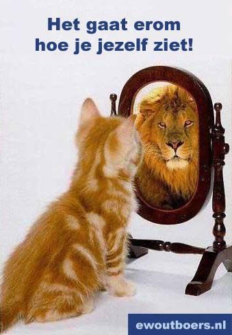 Het gaat er maar om hoe je jezelf ziet